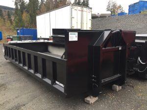 Dumper i s355 stål, farge svart